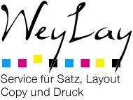 WeyLay - Tobias Weyrauch - Service für Satz, Layout, Copy und Druck